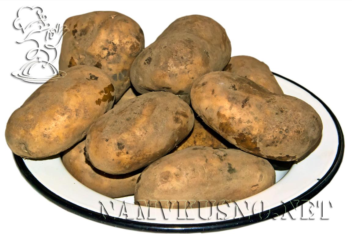 Картофель в косметологии