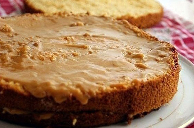 Медовый бисквит