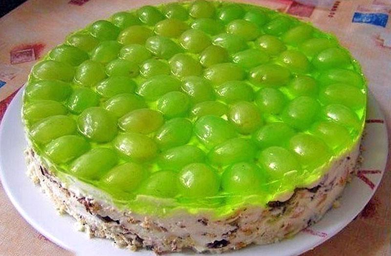 Торт Виноградинка