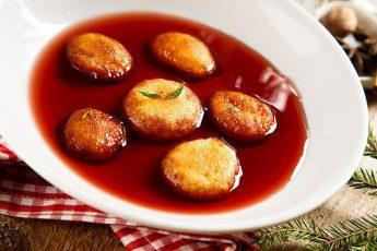 Немецкий рождественский десерт
