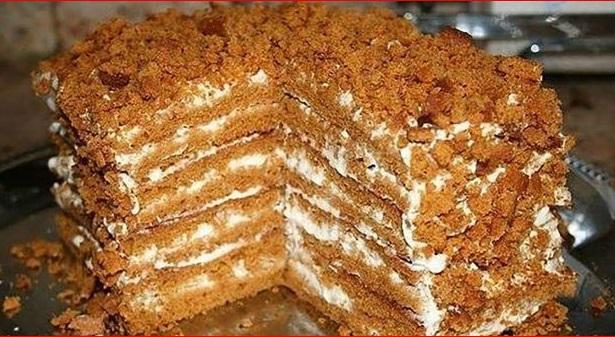 медовый тортик