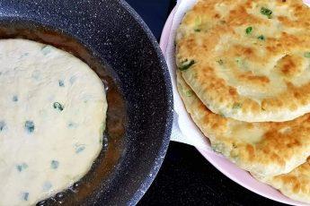 Как приготовить вкусные лепешки с зеленью на кефире