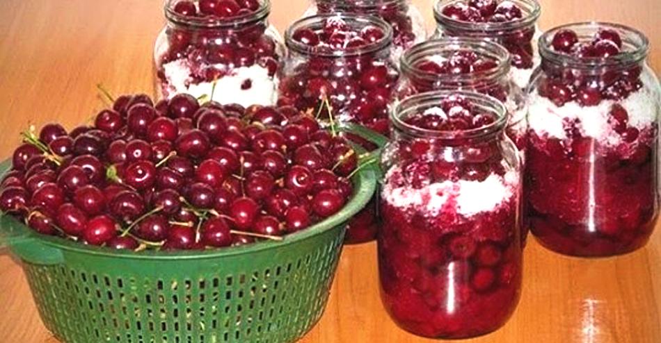 рецепты заготовок из вишни