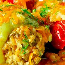 Наивкуснейшие фаршированные перцы. Меня научила так готовить бабушка, теперь это мой коронный рецепт!