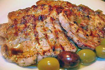 Рецепты из свинины