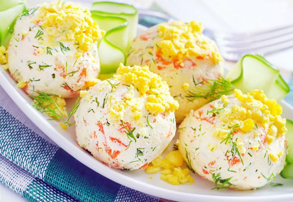 Сырно-крабовые шарики