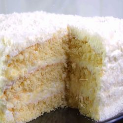 Торт «Рафаелло» на быструю руку