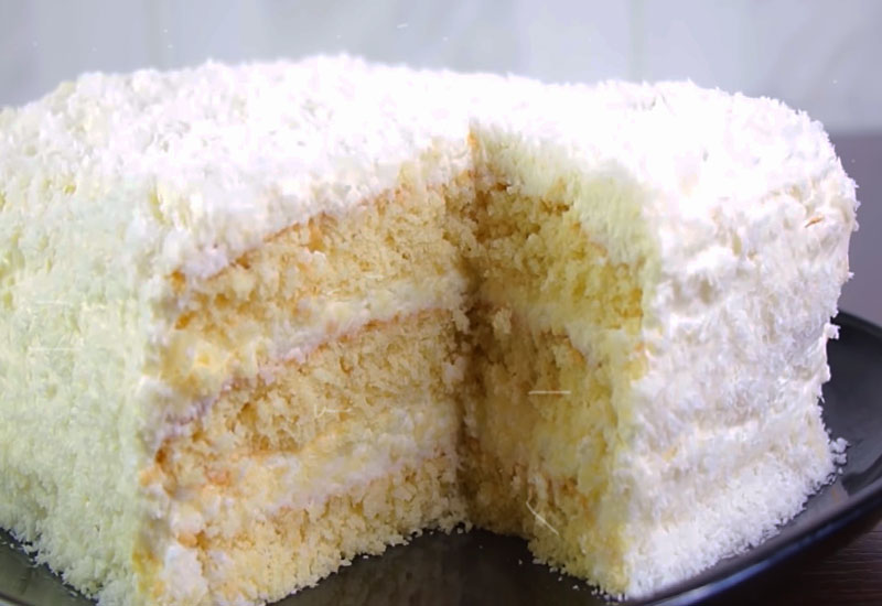 торт Рафаелло