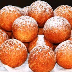 Творожные пончики - лакомство родом из детства